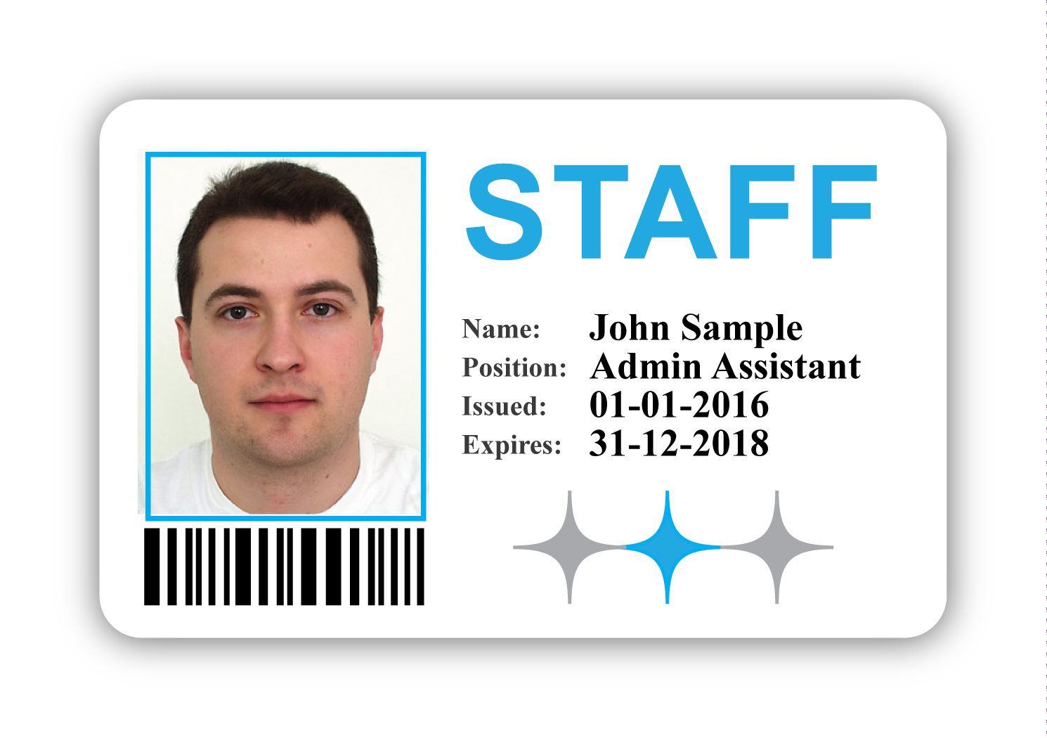 Staff ID Badge