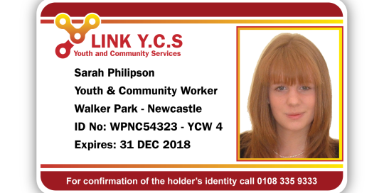LINK YCS Sample ID card Design