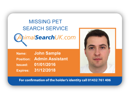 Missing Pet Search Service